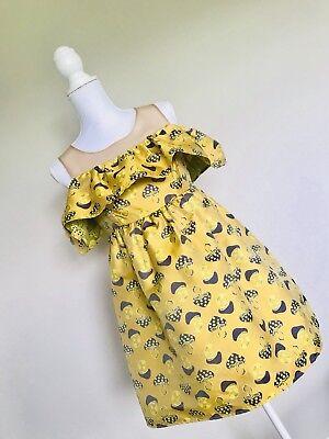 **BARGAIN** **Genuine** Tailored Mushrooms Yellow Short Dress - Buy Yellow Dress