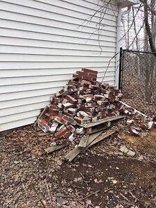 Free bricks - pick up today, all must go
