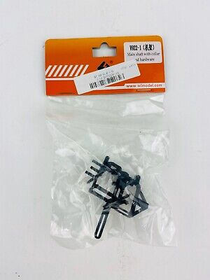 WLTOYS WL-V922-01 Main Shaft With Collar and Hardware For V922 Helicopter , usado comprar usado  Enviando para Brazil