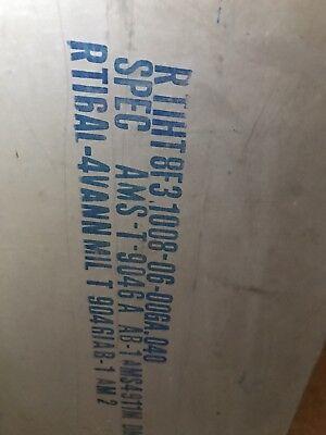 Titanium Sheet Mill Timet 6al-4v .050 X 10 X 36