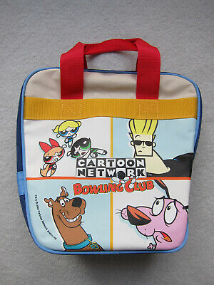 RARE Vintage 2002 Cartoon Network Bowling Club Bowling Ball Bag - BRAND NEW!