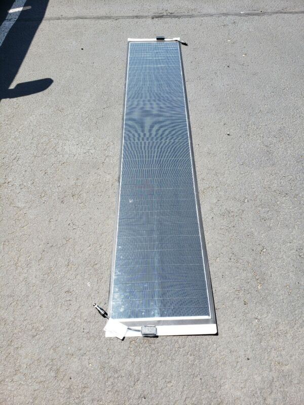 "Solopower SP1 SoloPanel Appx 80-95W Flexible Thin CIGS Solar Panel 16""x86"""
