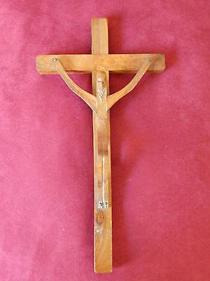 Altes Jesus Christus Wandkreuz, Kruzifix aus Holz