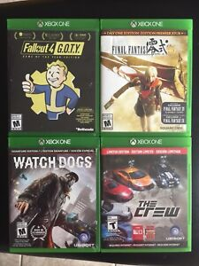 Xbox One Fallout 4 Final Fantasy Type-0 The Crew