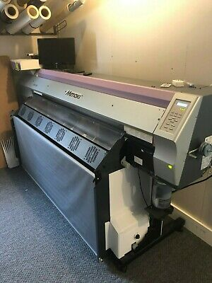 Mimaki Jv33-160 Solvent Printer And Cg-130 Fx Vinyl Cutter