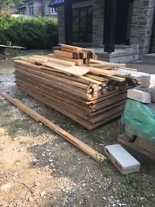 Hoarding Plywood and 2x4s