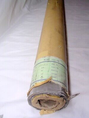 304 Stainless Steel Wire Mesh Roll150 Mesh 0.0026 Wire Dia. 48 Width 100 Ft