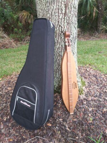 Rare Vintage Appalacian Dulcimer /W CASE! Full Size 4 Strings