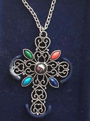 ANKH 925 STERLING SILVER PENDANT 2.9cm LEATHER NECKLACE /& GIFT BOX ANK