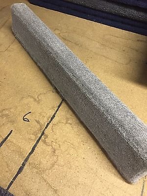 (2) Light Gray - 8' Boat Trailer Bunk Boards 2x4 - w/ Carpet - Outdoor Marine