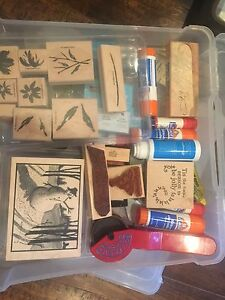 Huge lot of Stampin' Up Supplies