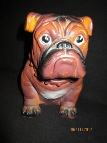Mack Truck Bulldog Hard Plastic Dog Bank