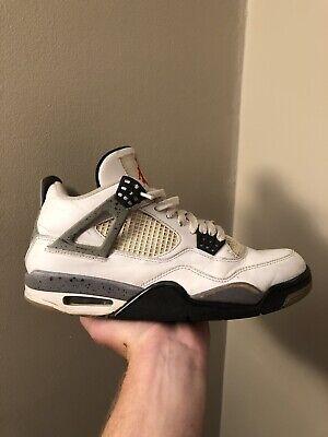 Air Jordan Retro 4 White Cement  - Retro 4 Cement