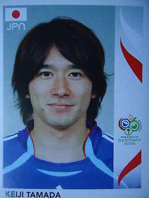 PANINI 452 KEIJI TAMADA JAPAN FIFA WM 2006 GERMANY