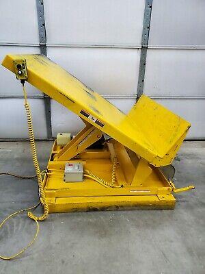 Vestil Uni-4848-2 Tilt Lift Table 2000 Lb Capacity 40 Tilt 6-2