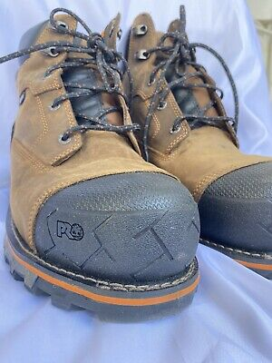 TIMBERLAND PRO Anti-Fatigue Safety Toe Work Boots Men's size 12 M✨