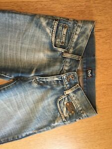 Dolce & Gabbana and Dior used jeans
