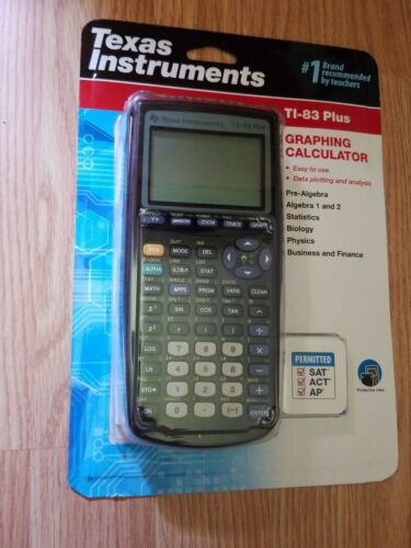 BRAND NEW Texas Instruments® TI-83 Plus Graphing Graphic Ca