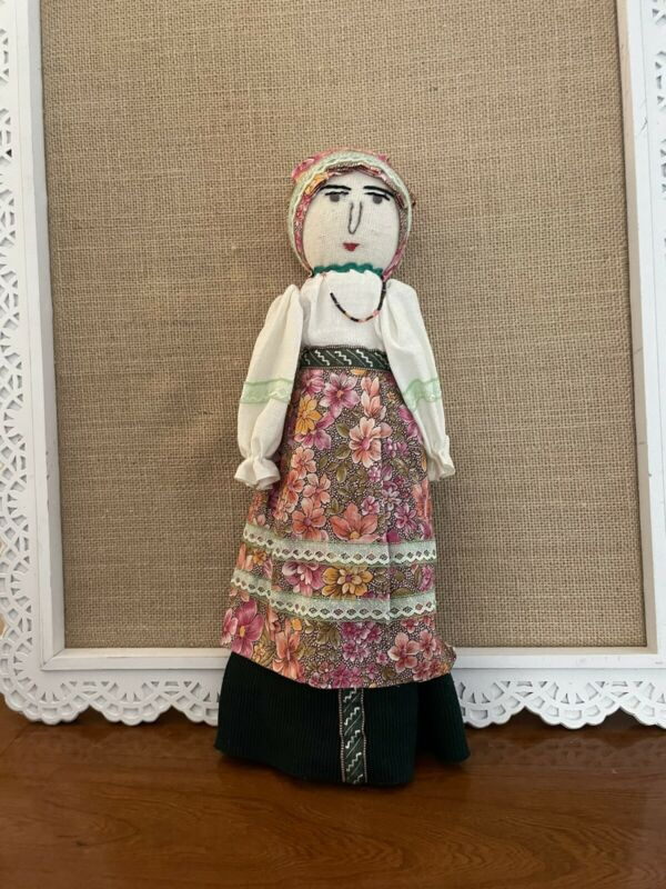 Antique Handmade Hand Puppet Doll