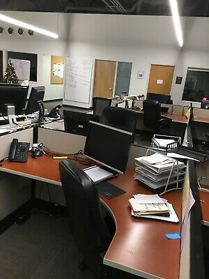 Herman Miller Call Center Cubicles - Power And Data To All Office Workstations