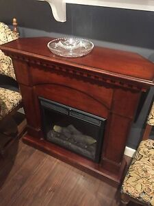 Electric Fireplace with Remote