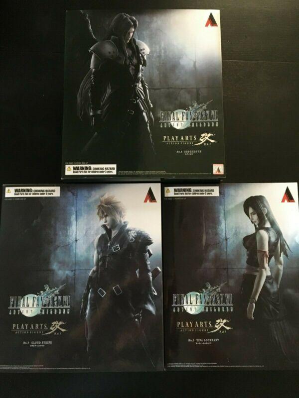 Square Enix Play Arts Kai Final Fantasy VII Advent Children Tifa Cloud Sephiroth