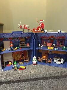 2 playmobil sets - Christmas & Fire and Rescue