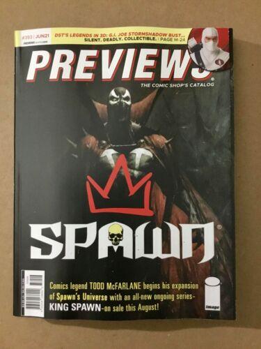 Previews Comic Shop Catalog #393 June 2021 Spawn & Porcelain