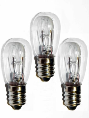 3 Bulbs for Vintage Electric Realist Green Button Kodak Kodaslide Stereo Viewers