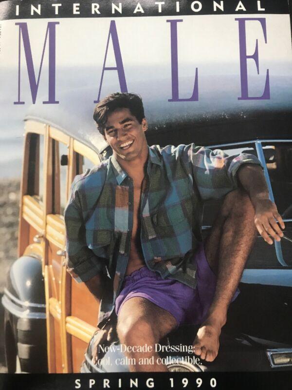 International Male Catalog - Spring 1990- Mens magazine