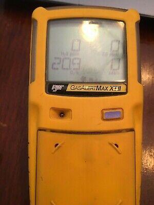 Bw Technologies Gas Alert Max Xt Ii Gas Detector Wpump New Oxygen Cald X5