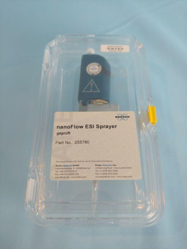 Bruker nanoFlow ESI Sprayer Part No. 255780 Mass Spectrometer Maxis II