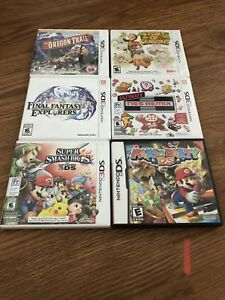 3ds-DS-GBA-Switch Games for sale