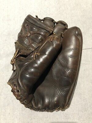 New York Yankees' 3B Andy Carey Glove worn in the 1956 World Series. Don Larsen