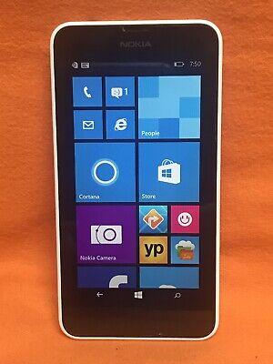 UNLOCKED (T-MOBILE) NOKIA LUMIA 635 WINDOWS SMARTPHONE 4G LTE WHITE SCORCHING