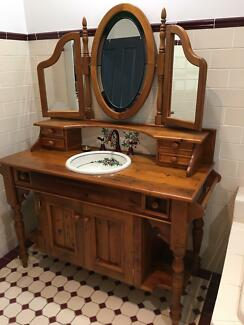 Bathroom Vanities Yatala vanity table | other furniture | gumtree australia pine rivers
