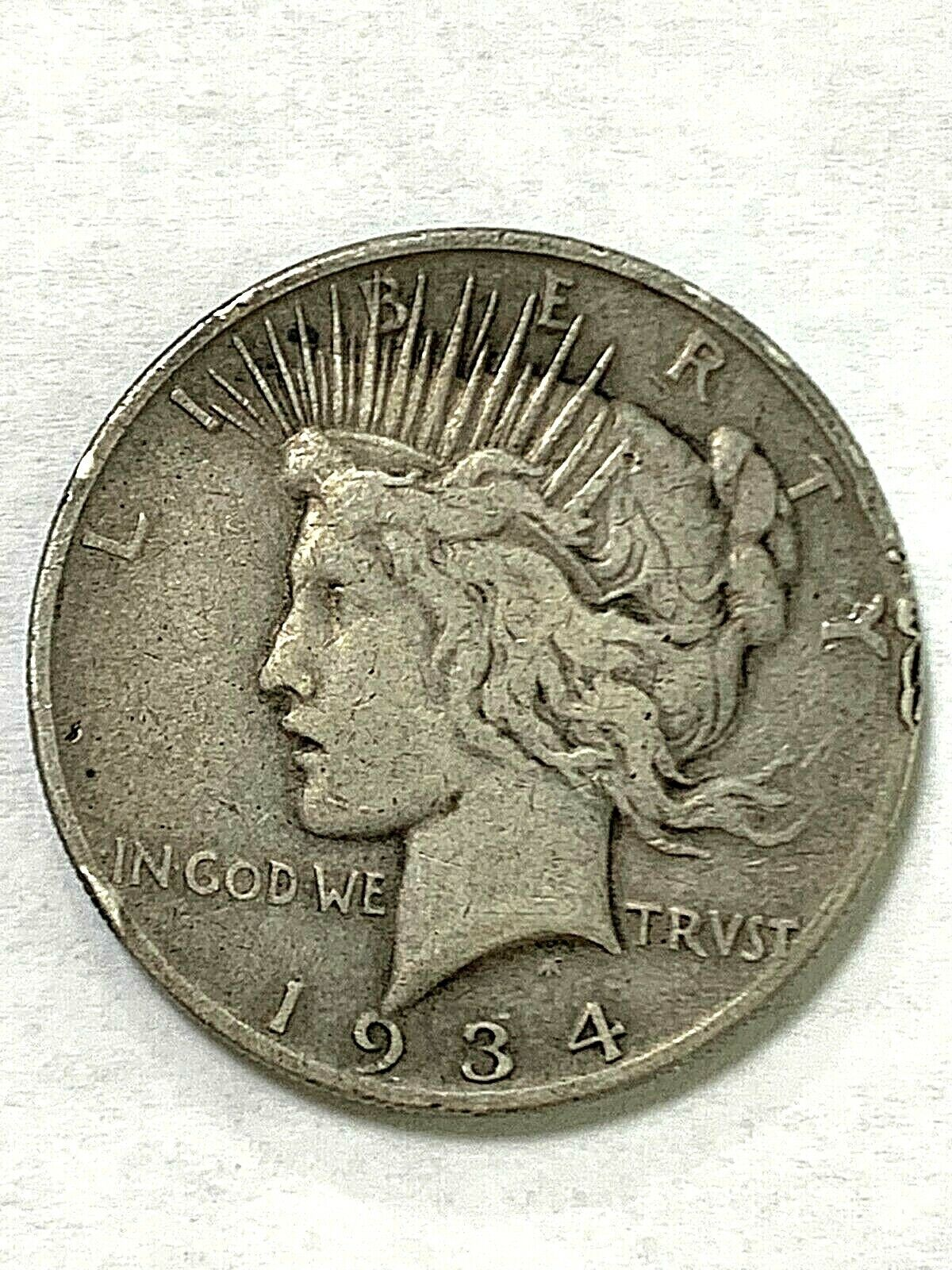 1934-S Peace Dollar- Low Mintage - $49.99