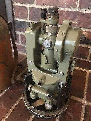 Wildleica T16 Theodolite Transit For Surveying With Case Switzerland Made