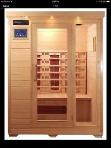 Brand New Far Infrared Heated Sauna