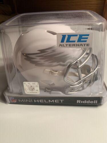 Philadelphia Eagles NFL ICE Alternate Speed Riddell Mini Hel