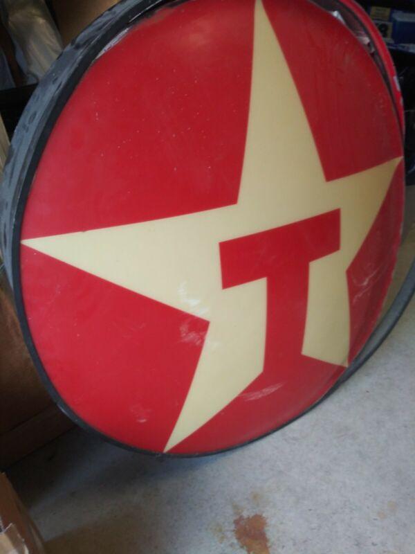 Vintage original texaco sign
