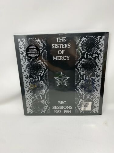 *TORN SEAL* SISTERS OF MERCY - BBC SESSIONS LP VINYL RSD RECORD STORE DAY 2021