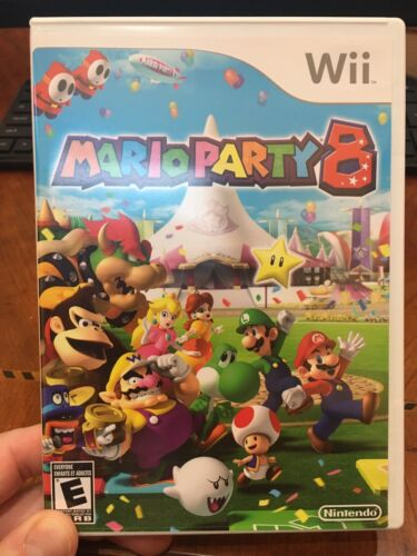 Mario Party 8 Wii, 2007  - $31.00