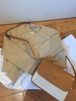 Gucci 100% Authentic Vintage 1980's Shoulder Crossbody Messenger Bag Purse Bag