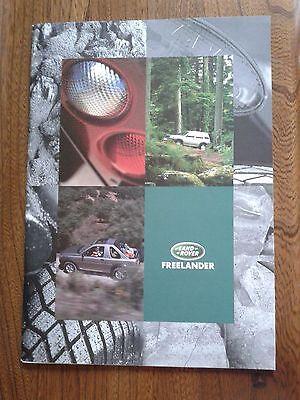 Land Rover Freelander Prestige Brochure - 1998 - 3 door/5 door - NEW Pristine