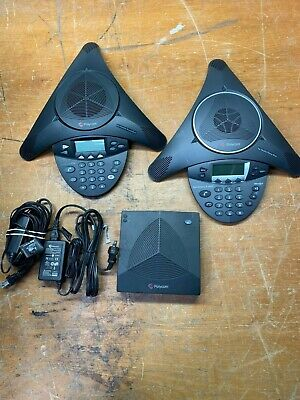 Polycom Soundstation 2w 2.4ghz Wireless Conference Room Phone And Ip6000
