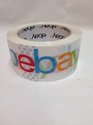 1 Discontinued Roll Ebay Packing Tape From New Bulk Package 2in X 75yds