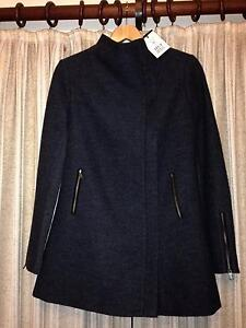 Marcs Rosie Felted Wool Coat - Charcoal - Size 10 (NEW) Riverview Lane Cove Area Preview