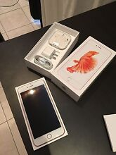 Apple iPhone 6s Plus Rose Gold 128gb unlocked 2 months old Merrylands Parramatta Area Preview