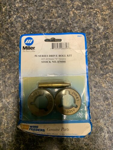 Miller Electric 079595 0.035 (0.9mm) V Groove 50 Series Drive Roll Kit NEW
